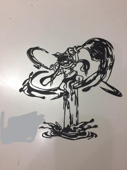 パブロ-切り絵